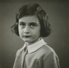 vintage everyday: Anne Frank – Her Life in Pictures, Some of Them Are Rare That You May Not Have Seen Before