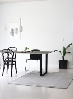 new table from Muuto & A+R store