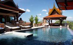 Patong Beach Villa Rental: Luxury Sea View 9 Bedroom Pool Villa In Patong Beach. Sleeps Upto 18 People   HomeAway