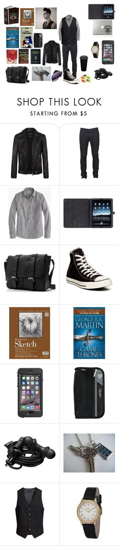 """Raoul Ray Dewolf (Criminal minds Spencer Reid lovestory)"" by symphoney ❤ liked on Polyvore featuring AllSaints, Levi's, J.Crew, Mulberry, Converse, Edition, LifeProof, Urbanears, H&M and Fendi"