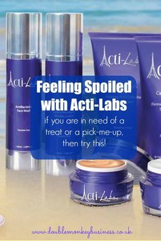 This week I have been feeling spoiled and pampered, as I test out the Acti-Labs range. Acti-labs sell make up and beauty products.