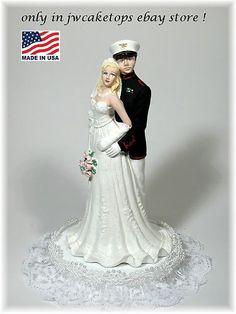 military theme wedding (marines)
