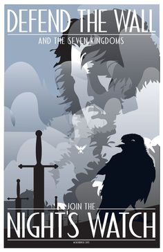 Game-Of-Thrones-Nights-Watch by CuddleswithCats on DeviantArt