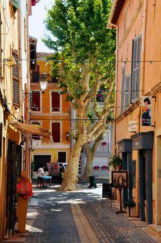 Martigues, Cote d'Azur, France