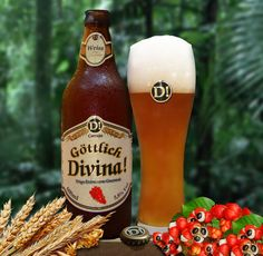 Gottlich Divina weiss Wheat Beer, Hot Sauce Bottles, Craft Beer, Brewing, Drinking, Beer 101, Alcohol, Beer Labels, Whisky