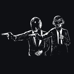 Daft Punk T-Shirt More Info Behind Daft Punk T-Shirt Daft Punk is a French electronic music duo. The two achieved significant popularity in the late 1990s as part of the French house movement and were