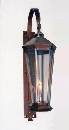 Custom Gas Lanterns: Model CGWL