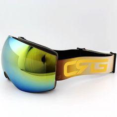 b1fa7a7405 New CSG Brand Ski Goggles Double UV400 Anti-Fog