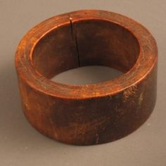 Africa | A lovely old ivory bangle from the Mursi people of Ethiopia.