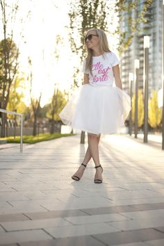Pink, Elle est Forte//She is strong  Proverbs 31 T-shirt www.sheisclothing.etsy.com She Is Clothed, Mom Style, All Things, Tulle, Flower Girl Dresses, Comfy, T Shirts For Women, The Originals, Wedding Dresses