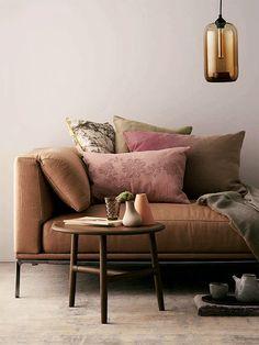 Earthy tones - Elle Decor 2013 - Futura Home Decorating Elle Decor, Home Deco, Sweet Home, Ideas Hogar, Living Spaces, Living Room, Interiores Design, Colorful Decor, Interior Styling