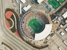 Giles Price's aerial photographs show impact of Olympic venues on Rio Olympic Venues, Aerial Images, Rio Olympics 2016, Dezeen, Birds Eye View, Aerial Photography, Nice View, Top View, Architecture Design