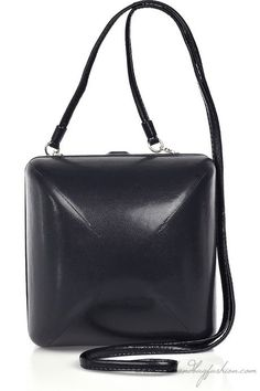 Maison Martin Margiela Oversized jewelry box bag – Black