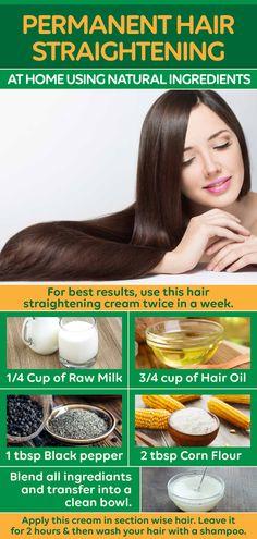 Straightening Hair Tips, Best Hair Straightener, Straightener Storage, Permanent Straightening, Diy Hair Treatment, Hair Growth Treatment, Hair Fall Remedy, Diy Hair Mask, Hair Masks