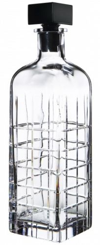 Find the best alcohol decanters to use in your home bar. Domino shares the best decanters to use in your home bar for decanting wine and liquor. Crystal Decanter, Wine Decanter, Drinkware, Barware, Manhattan, Best Alcohol, Unique Gifts For Dad, Kosta Boda, Decoration
