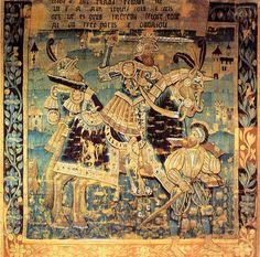 Hector, admiré au Moyen-Âge pour son courage lors de la guerre de Troie.  © J.M.Laugery