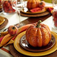 Traditional Harvest Place Settings from Pier1.com