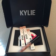 2⃣0⃣ Kylie Lip Gloss So Cute BNIB Authentic and ready to ship! This lip gloss comes with the new and improved brush/applicator. Kylie Cosmetics Makeup Lipstick