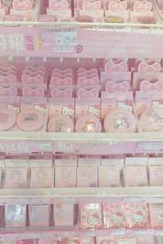 food for sale Cute Pink, Pretty In Pink, Baby Pink Aesthetic, Aesthetic Pastel, Aesthetic Makeup, Hello Kitty Items, Japanese Aesthetic, Kawaii Shop, Pastel Pink