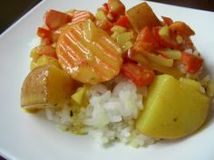 Thai Yellow Curry - easy and vegan!