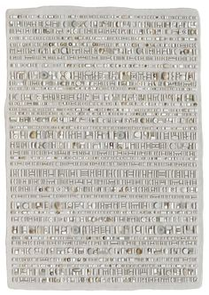 "Sonia King ""Coded Message: Invisible Ink"" 2011 35.5x25.5 in. Glass, ceramic, white gold, smalti,, quartz, silver, marble, rock crystal, seashell, pearls, aluminum, selenite, abalone, pebble, stainless steel, bone, coral, flourite, dinosaur bone, mirror."
