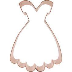 Dress Cookie Cutter, Fancy