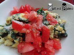 Sauteed Spinach Eggs (scd, Paleo)