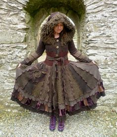 gypsy coat made from sweaters