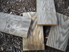 Barn Wood Barnwood for crafts photo props centerpiece by indigoh2o, $9.97