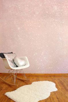 Glitter Wall DIY   Making Your Own Glitter Paint!   A Joyful Riot