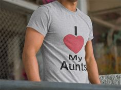 Discover I Love My Aunts T-Shirt from BigJim's Shirt Shop only on Teespring - Free Returns and 100% Guarantee - LIMITED EDITION        Guaranteed safe & secure...