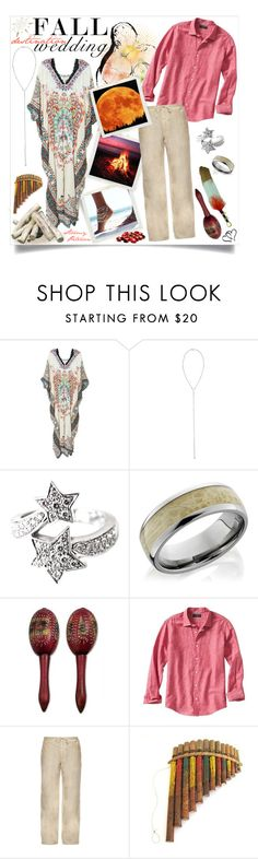 """Dream Wedding"" by stormypeterson ❤ liked on Polyvore featuring Rococo Sand, Eddie Borgo, Chanel, NOVICA, Banana Republic, 120% Lino, Columbia, artandexpression, polyvorecontest and fallwedding"