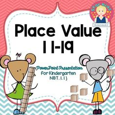 Place Value Activities for Kindergarten for At Home Learning Rhyming Kindergarten, Kindergarten Units, Kindergarten Reading, Educational Activities, Math Activities, Math Games, School Resources, Math Resources, Place Value Activities
