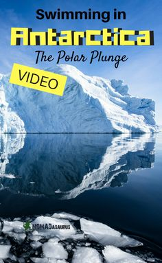 Check out our POLAR PLUNGE video in Antarctica. It was incredible! Looking for a great adventure to add to your bucket list? Go for a polar plunge in Antarctica. Just one of the many things to do in Antarctica.