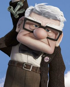 Ed Asner as Carl Fredricksen | Here's What Pixar Voice Actors Look Like In Real Life
