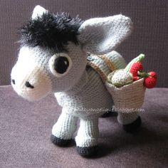 Free Donkey Amigurumi Crochet Pattern http://wixxl.com/free-donkey-amigurumi-crochet-pattern/