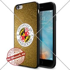 WADE CASE Maryland Terrapins Logo NCAA Cool Apple iPhone6 6S Case #1282 Black Smartphone Case Cover Collector TPU Rubber [Gold] WADE CASE http://www.amazon.com/dp/B017J7JPYS/ref=cm_sw_r_pi_dp_ke3qwb090HQ06