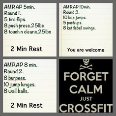#crossfit #wod #TeamAwesome