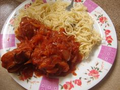 #CookedByMe  #Spaghetti plus #TomatoSauce and #Chicken