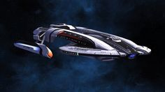 The original Akira Class Heavy Escort was envisioned as a light carrier and torpedo boat. Although it could be equipped with several torpedo launchers, it never lived up to its full potential, and… Star Trek Fleet, Star Trek Ships, Star Trek Online, Concept Ships, Concept Art, Trek Deck, Starfleet Ships, Alien Ship, Star Trek Images