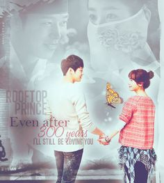 Rooftop Prince... I've seen this show multiple times and it gets to me every time.. <3 One of my favorite dramas <3 :)  the crown prince + Park Ha <3