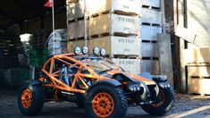 Ariel Motor Company expands its lineup from the Atom track car and Ace motorcycle with the rugged new Nomad. Pagani Huayra, Ariel Nomad, Kart Cross, Carros Audi, Off Roaders, Off Road Buggy, Sand Rail, Kit Cars, Car And Driver