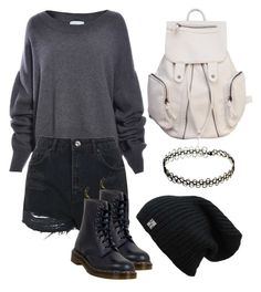 """""""Untitled #2"""" by machasoccio on Polyvore featuring Topshop and Dr. Martens"""