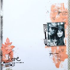 Scrap and F(ami)ly ! Photo Layouts, Scrapbook Page Layouts, Scrapbook Pages, Mixed Media Scrapbooking, Scrapbooking Ideas, Card Candy, Lay Outs, A4, Crafts