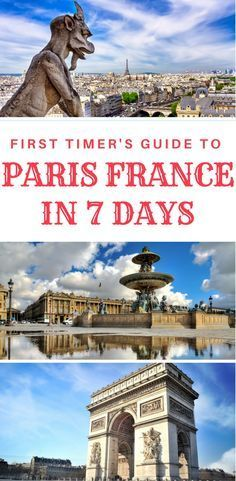 Planning a trip to Paris, France? Find here a complete guide to Paris with the best things to do in Paris in 7 days. A detailed 7 day itinerary for first time visitors. #paristravel