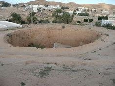 Troglodyte Dwelling - Matmata, Tunisia