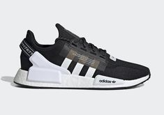 adidas is releasing their brand new NMD in a classic black and white colorway on December Click above for more information. Adidas Nmd R1, Adidas Men, Adidas Shoes, New Shoes, Men's Shoes, Shoes Style, Shoes Sneakers, Adidas Models, Black White