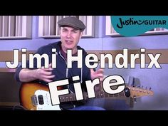 How to play Fire by Jimi Hendrix - Guitar Lesson Tutorial Classic Rock Easy Jimi Hendrix Fire, Jimi Hendrix Guitar, Beatles Guitar, Guitar Tips, Guitar Songs, Electric Guitar Lessons, Guitar Tutorial, Easy Youtube, Rock Songs