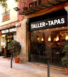 The tapas here are memorable. One of the best in Barcelona, Spain.