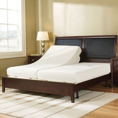 The Massaging Adjustable Bed  This bed provides a full-body massage and adjusts to seven different positions. Vibration motors imbedded in the mattress generate a soothing, rhythmic massage that loosens tight muscles and joints. The massage intensity ranges from gentle pulsation to a vigorous undulation and you can focus the vibrations on a specific area of your body.